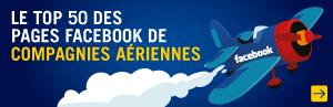 Compagnies aériennes facebook