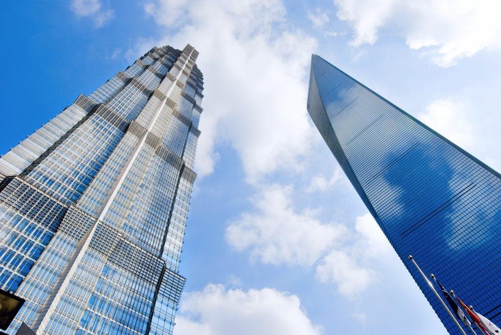 Shanghai World Financial Center et Jin Mao Tower