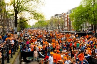 Queens day