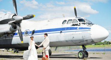 Le mariage princier…vu par les compagnies aériennes.