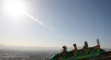 Stratosphere, à Las Vegas, le plus haut parc d'attractions au monde