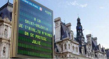 Vos mots d'amour à Paris pour la Saint Valentin 2012!