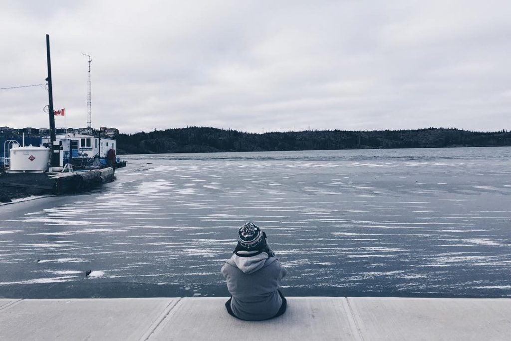 Grand Lac des Esclaves, Territoires du Nord-Ouest - Photo: Instagram @chan_kee