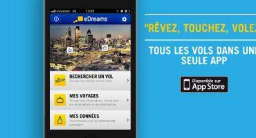 Réservez votre vol en un temps record grâce à la nouvelle app eDreams!