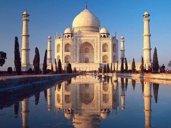 14 lugares perfectos para besar a tu pareja en San Valentín. Taj Mahal