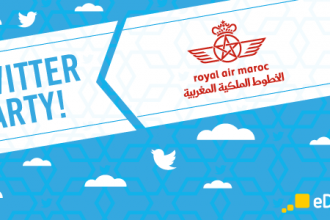 Twitter Party Royal Air Maroc