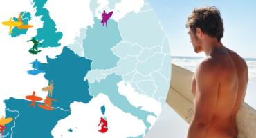 Les 15 meilleures plages d'Europe pour faire du surf