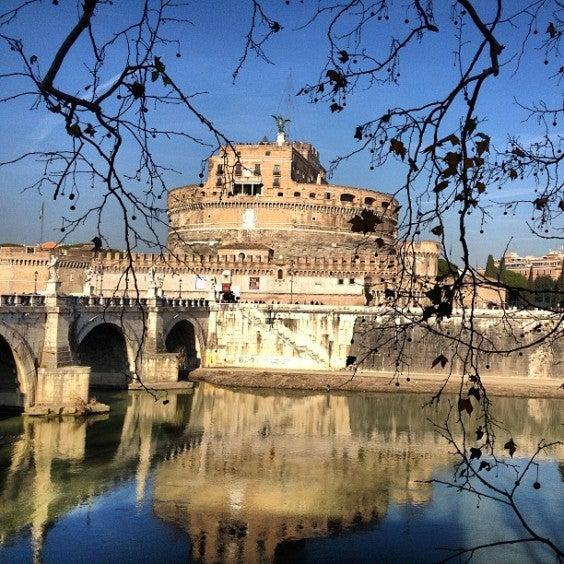 Pont Sant' Angelo, Rome, Italie