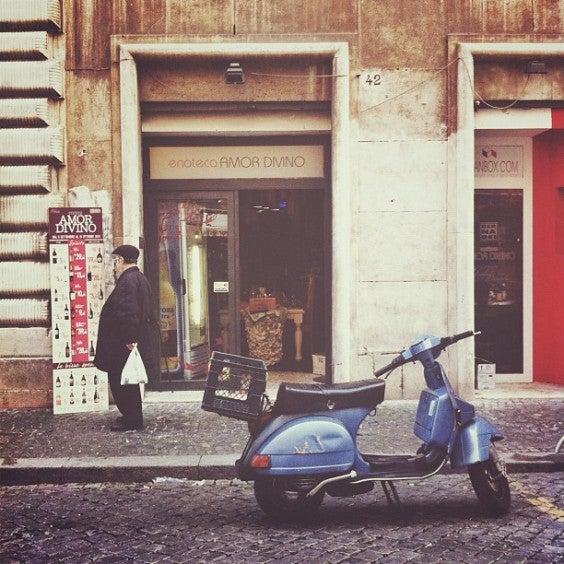 balade à Rome en vespa, Rome, Italie