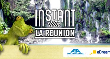 Gagnez à l'instant un voyage pour 2 personnes à La Réunion!