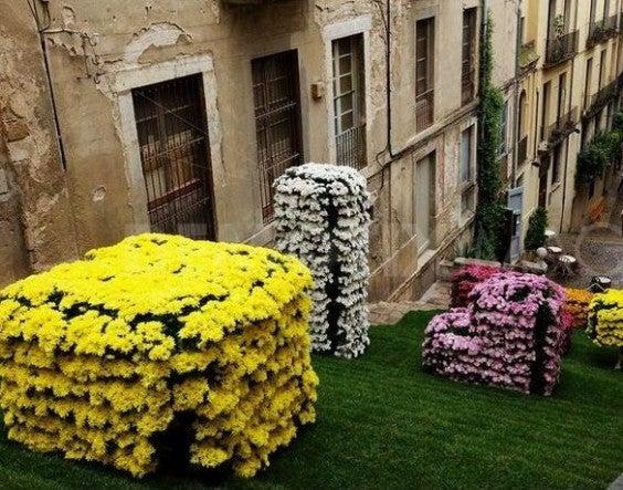 fete des fleurs gérone espagne