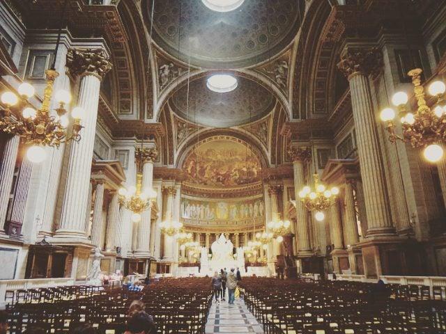 église de la madeleine intérieur paris
