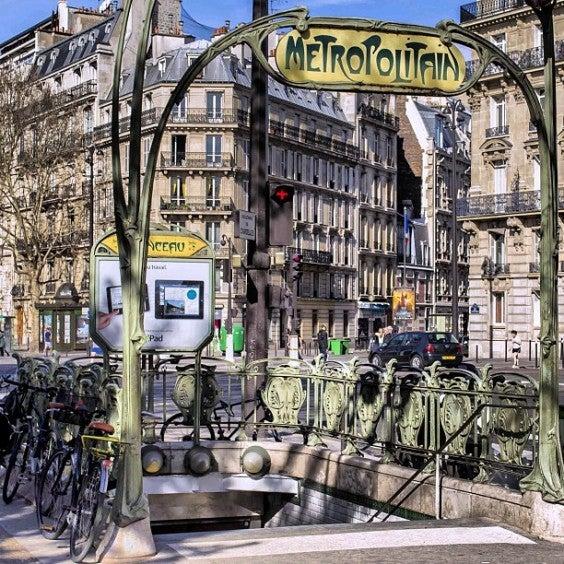metropolitana cose da vedere a parigi
