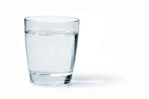 verre d'eau avion