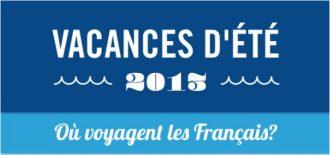 Destinations des français pour l'été 2013