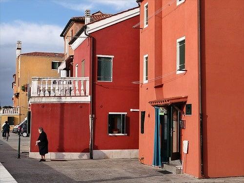 Pellestrina, venise, italie
