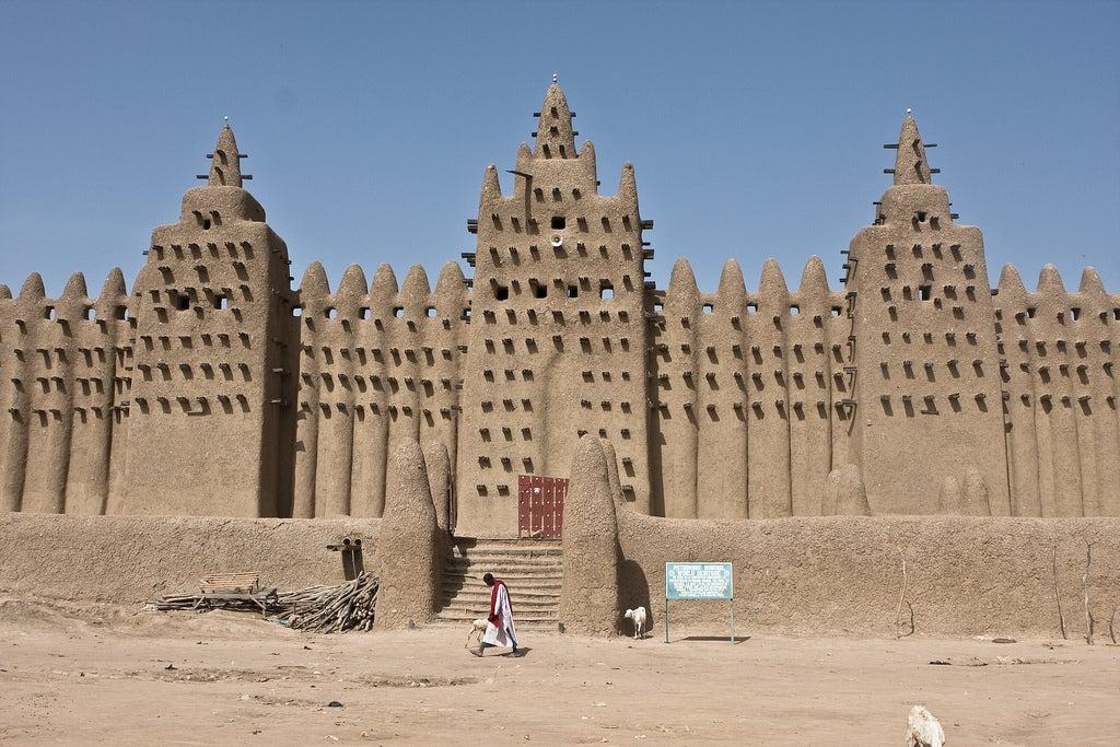 Mosquée Djenné Mali - blog eDreams