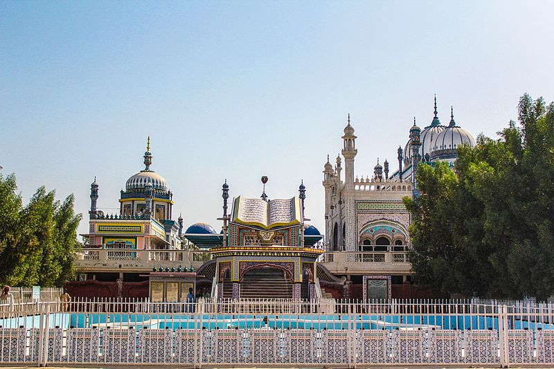 Mosquée de Bhong Pakistan - blog eDreams