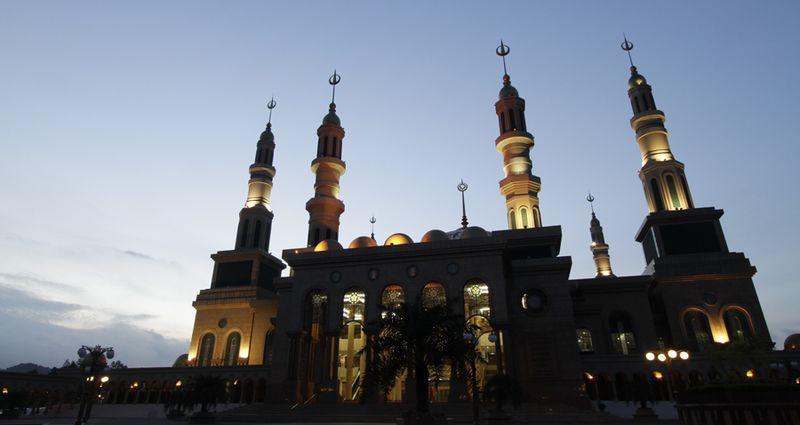 Mosquée de Samarinda Indonésie - blog eDreams