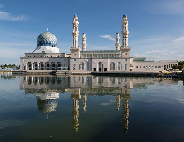 Mosquée de Kota Kinabalu Malaisie - blog eDreams