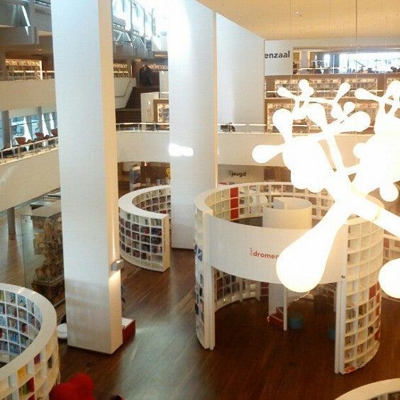 Que ver en Ámsterdam. Openbare Biblioteca ámsterdam