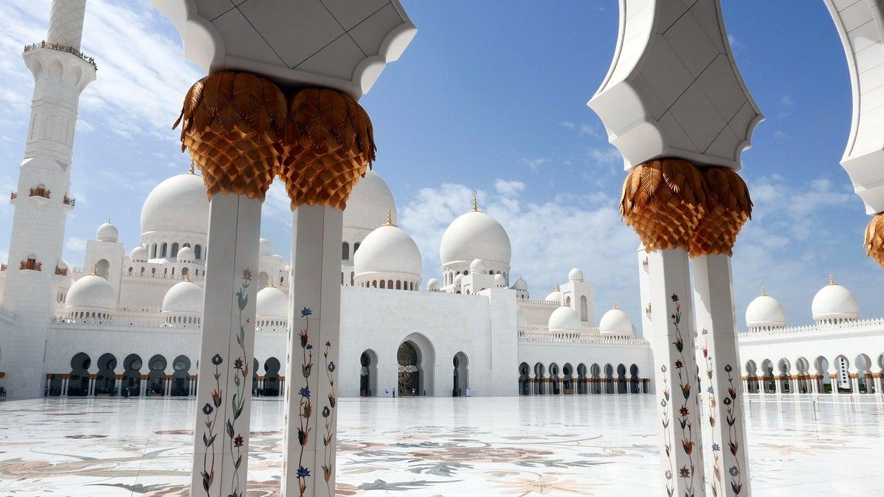 Mosquée Sheikh Zayed Abou Dabi - blog eDreams