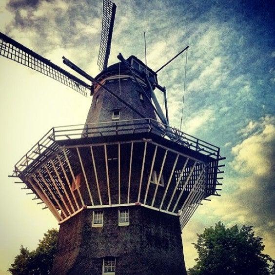 moinho de vento Amesterdão
