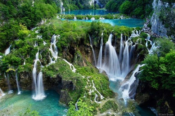 cascades de Plitvice, Zagreb, Croatie, et Zadar, Dalmatie du Nord.
