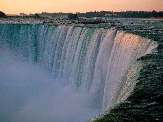 chutes du niagara - canada, etats unis