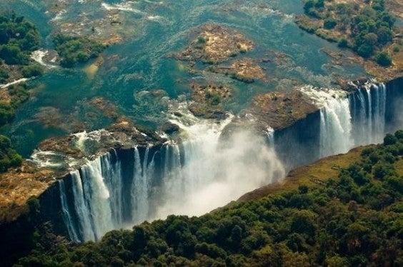 chutes victoria, Zambie et Zimbabwe