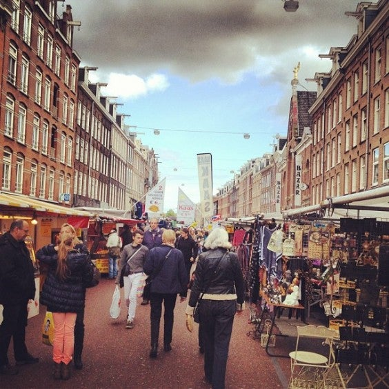 cuypmarket Amesterdão