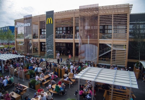 The Largest McDonald's in the World
