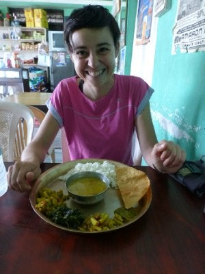 maria nepal dejeuner