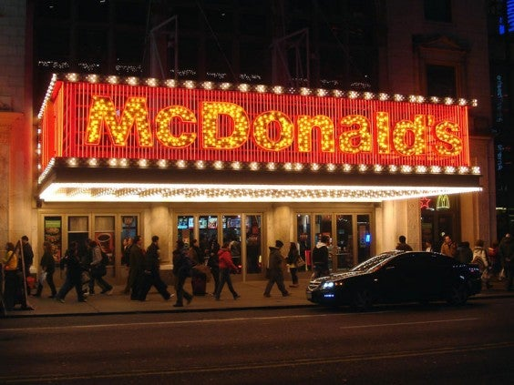 Der Mcdonald's Theater NYC