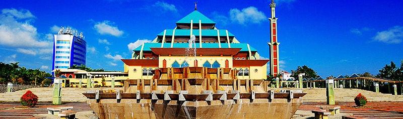 mosquée Raya Batam, Indonésie - blog eDreams