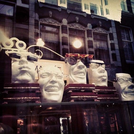 museu dos óculos, Amesterdão
