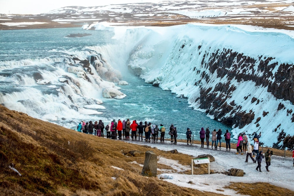 chutes gullfoss islande - blog eDreams