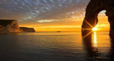 Les plus beaux couchers de soleil…