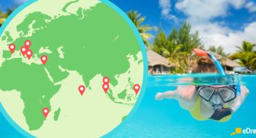 Les 20 meilleurs endroits du monde pour faire de la plongée
