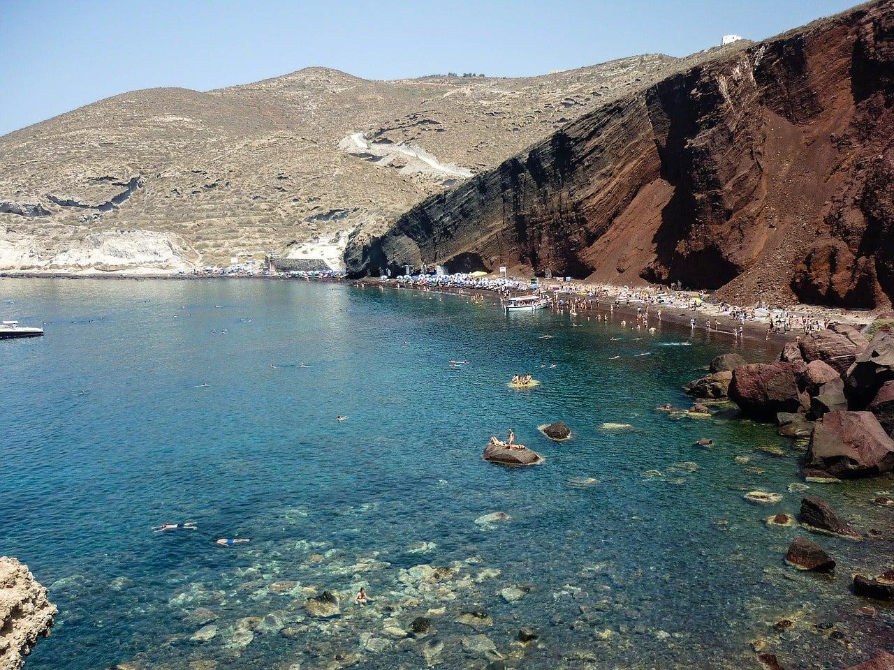 Plage d'Akrotiri Santorin eDreams