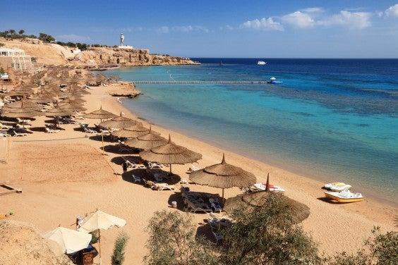 Praia Sharm el-sheikh, Egipto