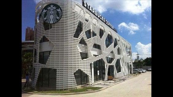 Starbucks Porto Chino , Bangkok, Thailande