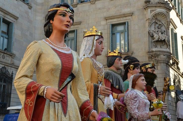 La mercè de Barcelone: un magnifique festival dans les traditions Catalanes!