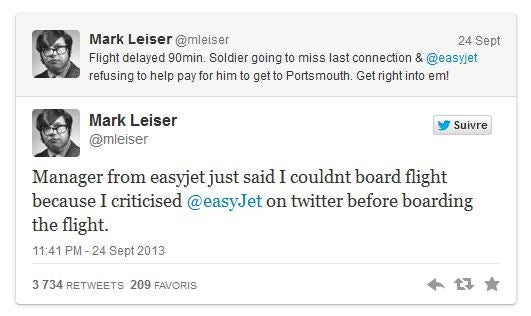 mark leiser easyjet