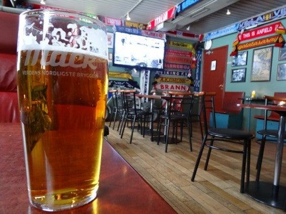 bière la plus au nord de laponie