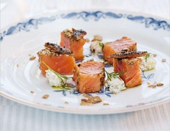 saumon spécialité locale laponie