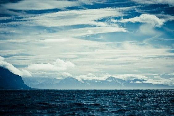 cercle arctique en laponie