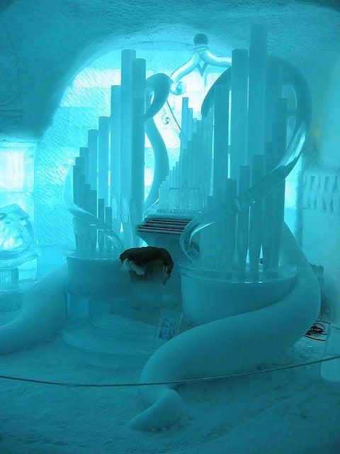 ice hotel laponie