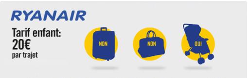 Quelles sont les franchises de bagages pour enfant selon la