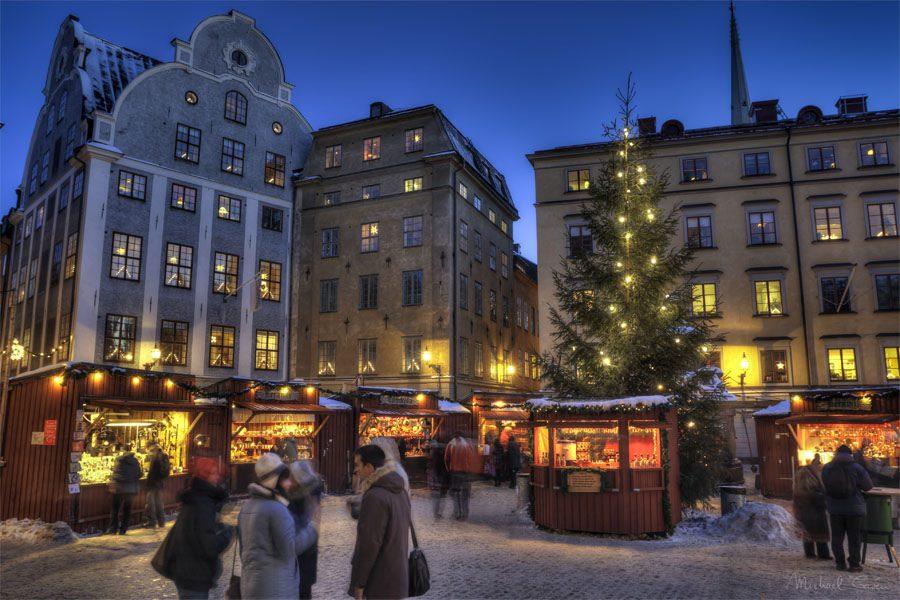 Marché de Noël à Stockholm